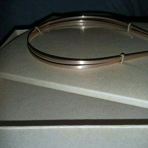 jen atkin Accessories - Silver metal hair band